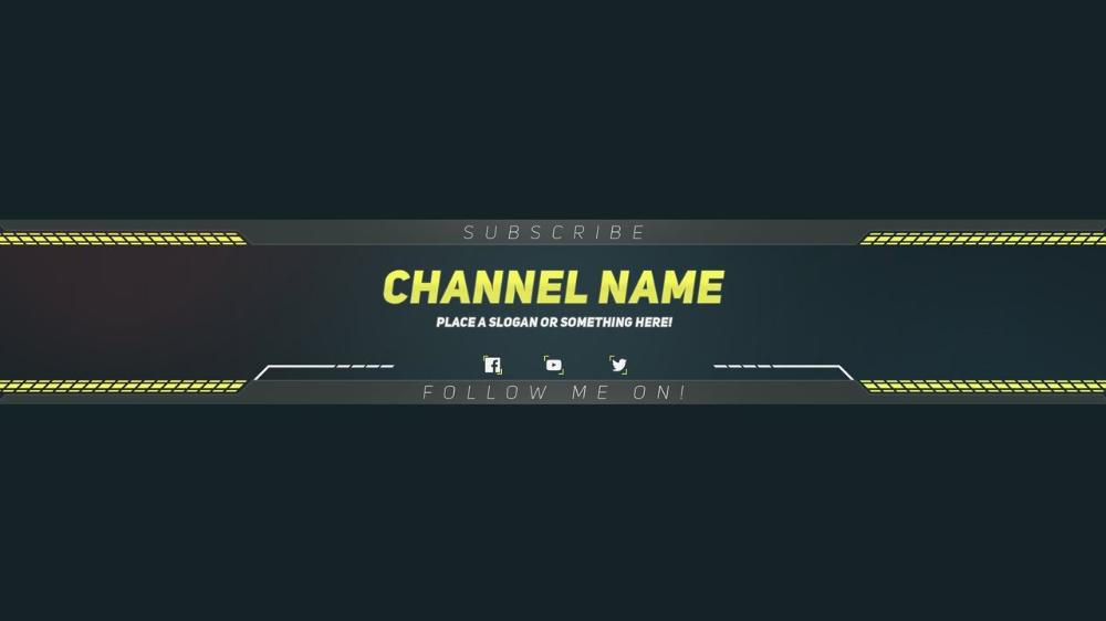 Adobe Photoshop Banner Templates | Youtube Banner Template with Adobe Photoshop Banner Templates