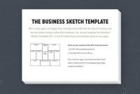 How To Create A Simple, Effective One-Page Business Plan within 1 Page Business Plan Templates Free