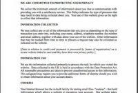 001 Company Privacy Policy Template Uk Ideas For Credit Card regarding Company Credit Card Policy Template