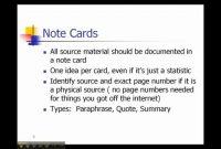 002 Mla Research Paper Note Card Template Google Docs New with Google Docs Note Card Template