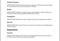 1 Business Plan Template For A Small Business with regard to Online Store Business Plan Template