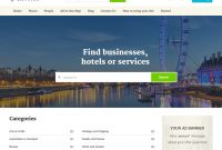 1 Listings Directory Theme | Listable Theme And Listing Pro throughout WordPress Business Directory Template