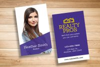 10 Free Real Estate Business Card Templates (Psd, Pdf regarding Real Estate Business Cards Templates Free