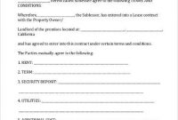11+ Simple Commercial Lease Agreement Template For Landowner pertaining to Business Lease Agreement Template Free