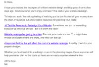 12 Different Types Of Marketing Email You Could Be Sending throughout Business Promotion Email Template