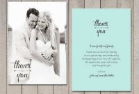 13 Online Wedding Thank You Card Templates Free Download pertaining to Template For Wedding Thank You Cards