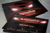 18+ Automotive Business Card – Free Psd, Eps, Illustrator inside Automotive Business Card Templates