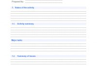 2 Easy Quarterly Progress Report Templates | Free Download with Business Quarterly Report Template