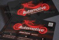 20 Best Automotive Business Card Design Templates | Pixel Curse inside Automotive Business Card Templates