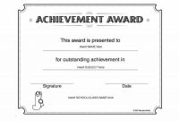20 Best Free Microsoft Word Certificate Templates (Downloads for Microsoft Word Award Certificate Template