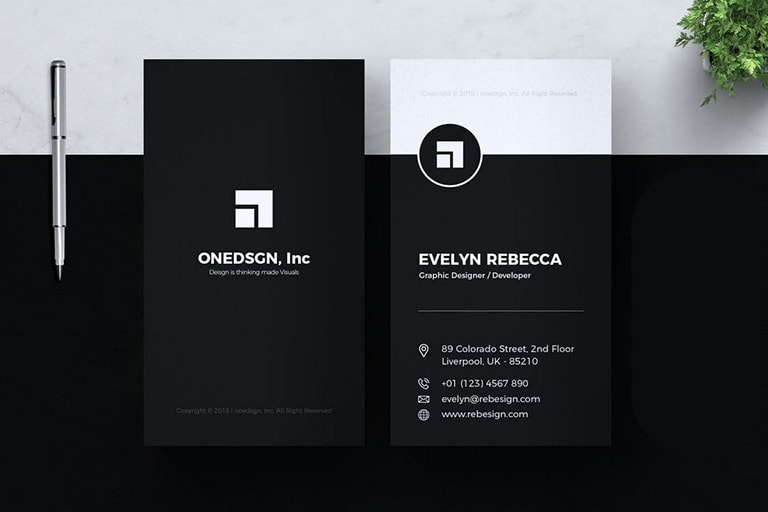 20+ Business Card Templates For Google Docs (Free & Premium Intended For Google Docs Business Card Template
