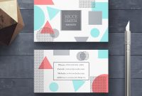 20 Creative Business Card Templates – Psd, Ai & Eps Download inside Creative Business Card Templates Psd