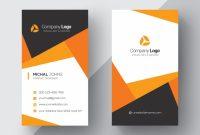 20 Professional Business Card Design Templates For Free regarding Designer Visiting Cards Templates