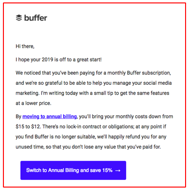 21 B2B Email Marketing Examples (Incl. Unique Templates) with regard to Business Promotion Email Template