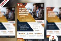 25+ Best Free Business Flyer Template Designs (Printable regarding New Business Flyer Template Free