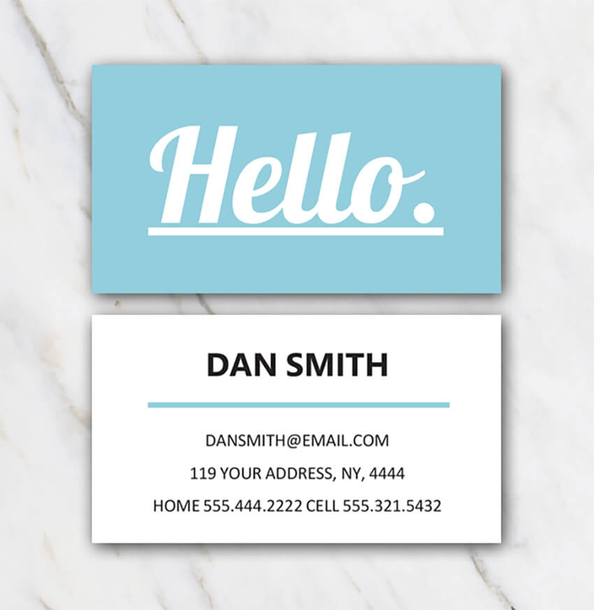 25+ Free Microsoft Word Business Card Templates (Printable With Regard To Word Template For Business Cards Free