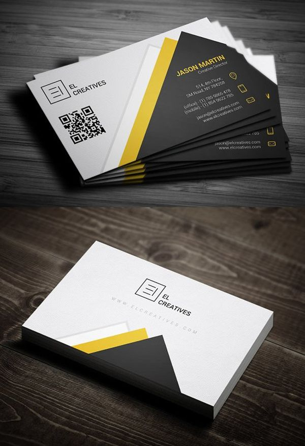 25 New Professional Business Card Templates (Print Ready For Unique Business Card Templates Free