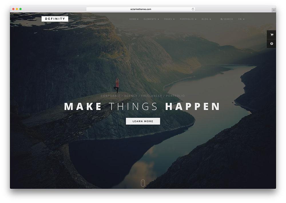 26 Best Minimal Website Templates (Html & WordPress) 2020 In Basic Business Website Template