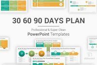30 60 90 Days Plan Powerpoint Template – Slidesalad in 30 60 90 Business Plan Template Ppt