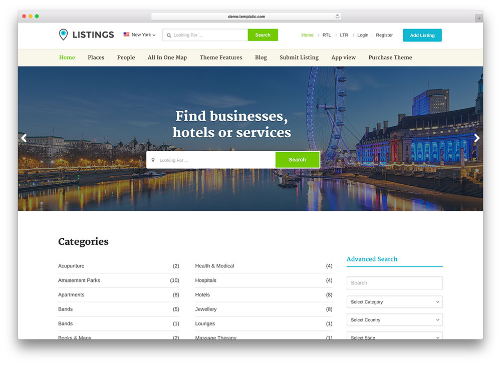 30+ Best Directory WordPress Themes 2020 – (Expert Pick) Throughout WordPress Business Directory Template