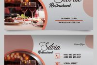 30 Free Psd Business Cards Templates For Powerful Business inside Restaurant Business Cards Templates Free