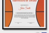 30+ Sports Award Certificate Examples – Pdf, Word, Ai inside Sports Award Certificate Template Word