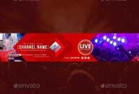 31+ Youtube Banner Templates – Free Sample Example Psd Downloads throughout Youtube Banners Template