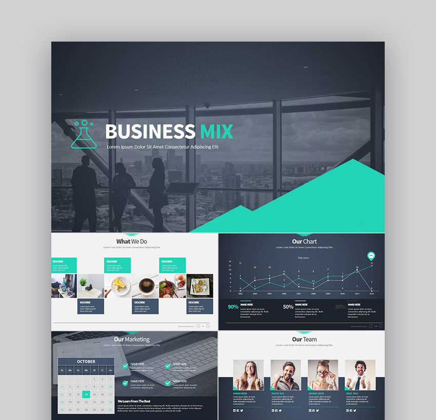 32+ Professional Powerpoint Templates: For Better Business in Best Business Presentation Templates Free Download