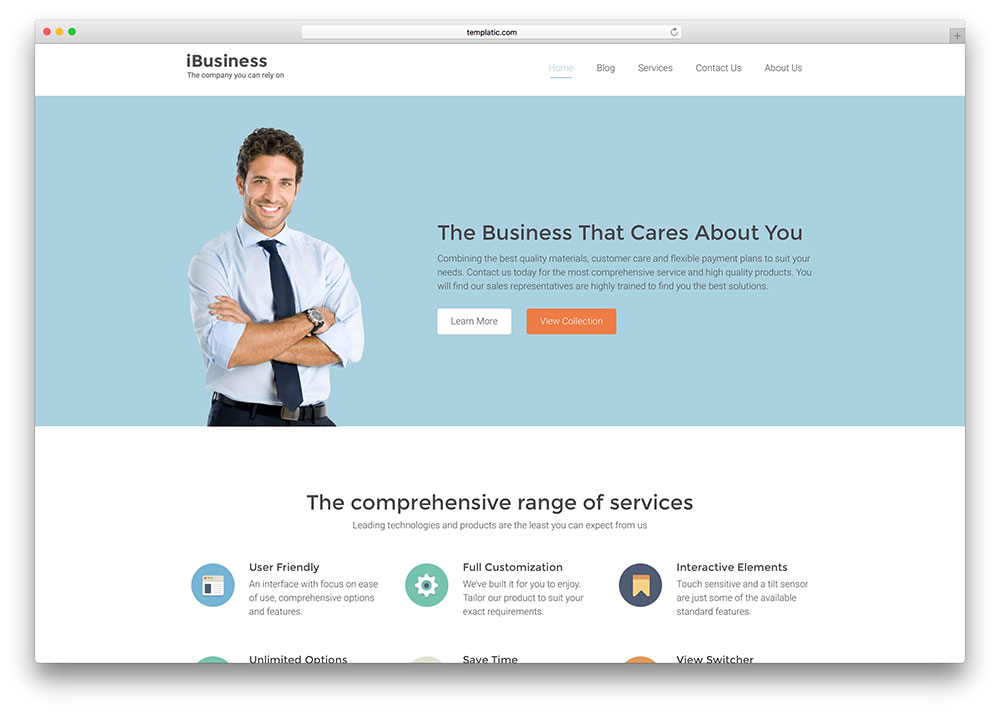 40+ WordPress Themes For It Companies And Tech Startups 2020 With Regard To Basic Business Website Template