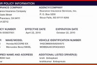 42 Best Of Car Insurance Card Template Download In 2020 with regard to Fake Auto Insurance Card Template Download