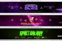 48+ Free & Premium Psd Youtube Channel Banners For The Best throughout Banner Template For Photoshop