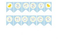 5 Best Images Of Printable Baby Shower Banner – Free regarding Baby Shower Banner Template