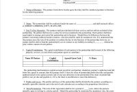 5+ Free Partnership Agreement Templates [With Tips intended for Template For Business Partnership Agreement