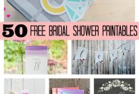 50 Free Bridal Shower Printables – Pretty My Party – Party Ideas inside Free Bridal Shower Banner Template