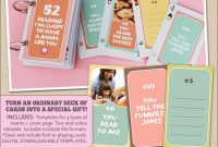 52 Things I Love About You Album (Or Reasons I'm Lucky To within 52 Things I Love About You Deck Of Cards Template