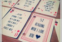 52 Things I Love About You – Alicia In A Small Town regarding 52 Things I Love About You Deck Of Cards Template