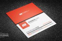 55+ Free Creative Business Card Templates – Designmaz inside Creative Business Card Templates Psd