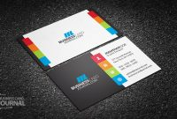 55+ Free Creative Business Card Templates – Designmaz pertaining to Web Design Business Cards Templates