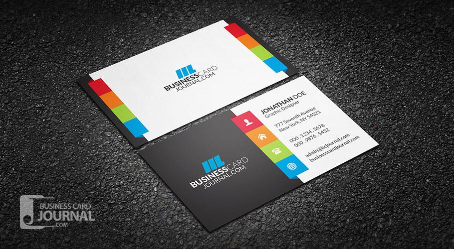 55+ Free Creative Business Card Templates - Designmaz pertaining to Web Design Business Cards Templates