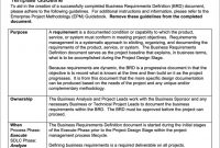 6 Free Business Requirements Document Templates For for Business Requirement Specification Document Template