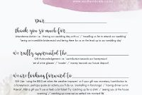 7 Thank You Card Wording Ideas + A Template To Make Writing with regard to Template For Wedding Thank You Cards