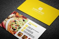 70 The Best And Useful Free Psd Files A Designer Must with regard to Food Business Cards Templates Free