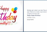 80 Report Birthday Card Template Word Free Now For Birthday throughout Microsoft Word Birthday Card Template