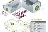 9+ Business Card Box Templates & Design Files   Folded in Business In A Box Templates