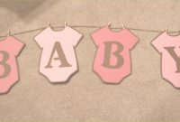 Amazing Baby Shower Banner Template Admirable Banners – Baby with Baby Shower Banner Template