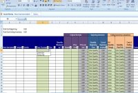 Annual Inventory Template Beginning And Ending Year inside Small Business Inventory Spreadsheet Template