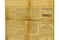 Antique Newspaper Template Stock Image. Image Of News – 24901371 regarding Old Blank Newspaper Template