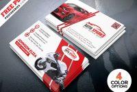 Auto Repair Business Card Template Psdpsd Freebies On within Automotive Business Card Templates
