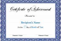 Award Certificate Template Microsoft Word Links Service throughout Microsoft Word Award Certificate Template