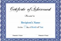 Award Certificate Template Microsoft Word Links Service with regard to Microsoft Word Certificate Templates